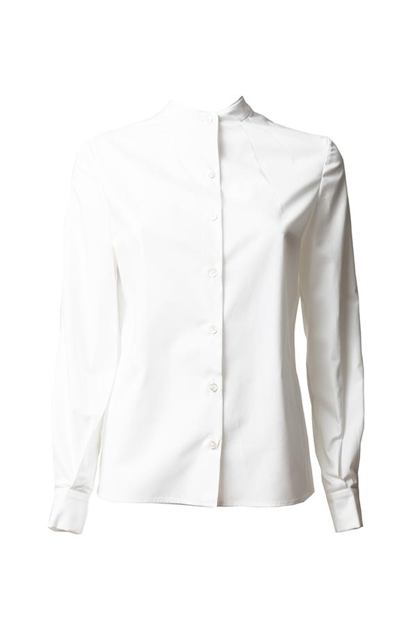 camicia cotone eco bianca